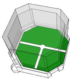 Cube-D 接続ブロックT型