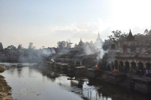 Pashupatinath - cremation at Bagmati river