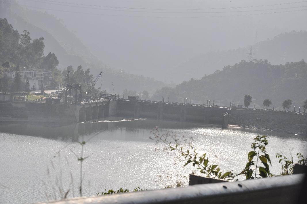 Hydro power plant at Beas river
