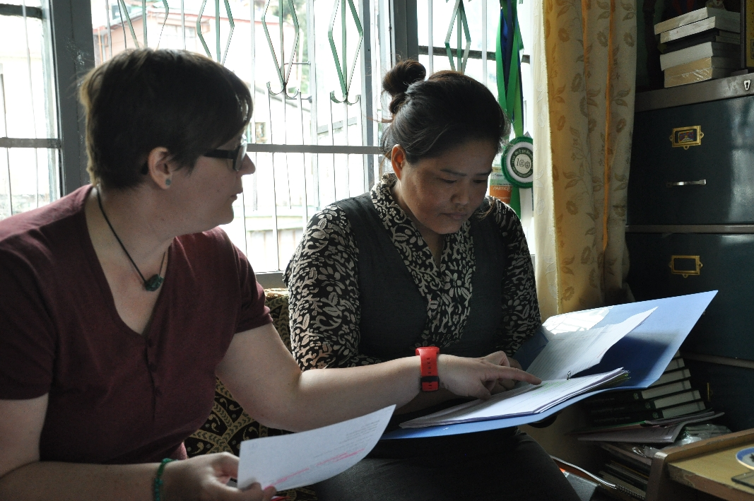 Discussions with Tibetan Women's Association