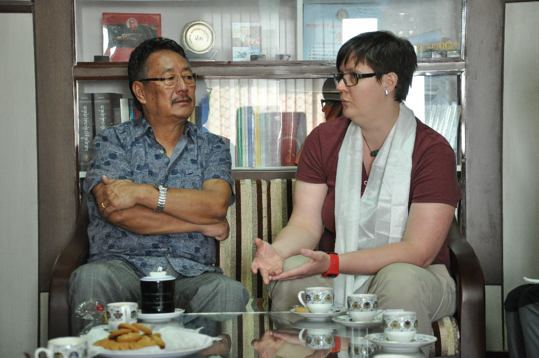 Meeting with Kalon, Minister of Home
