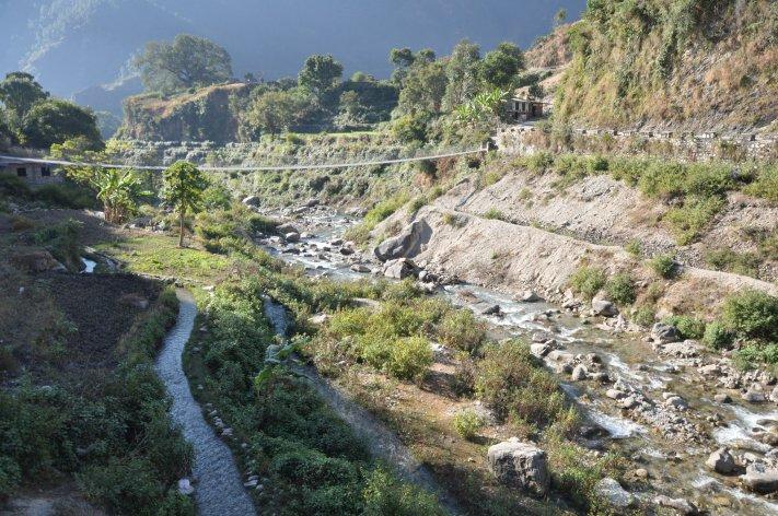 Irrigation channels