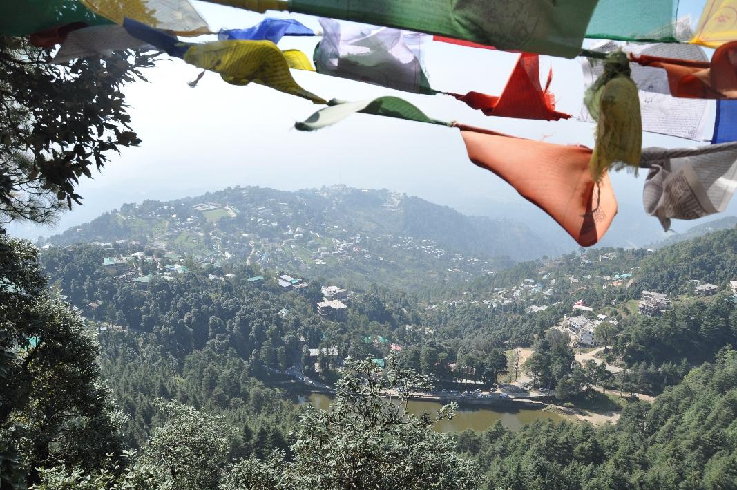 View to the Tibetan's Children Village Dharamsala