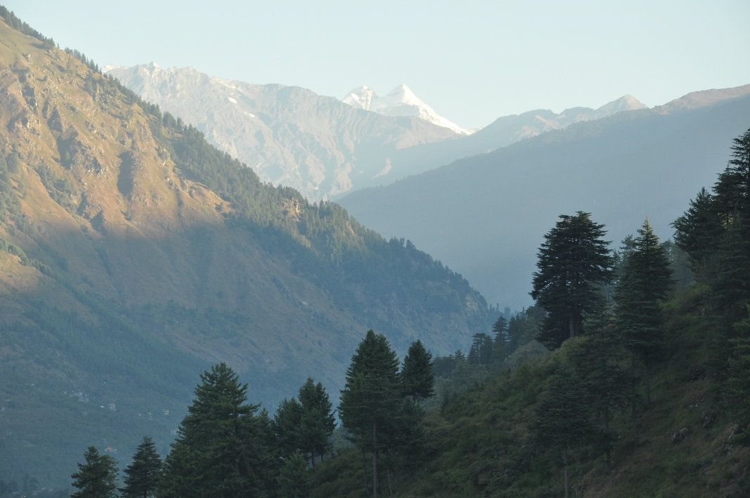 View to Rothang Pass