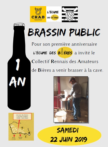 Saint malo craft beer 2019 bières et fromages Bordier