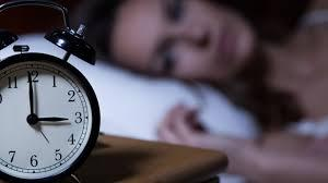 寝つきが悪い