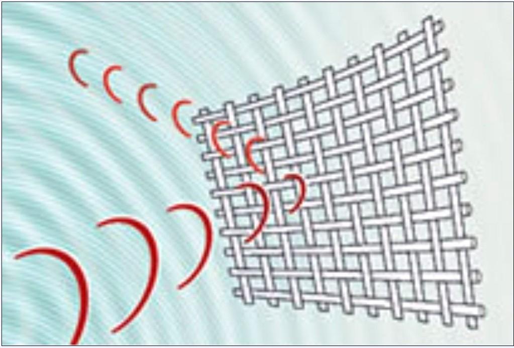 Swiss Shield Abschirmgewebe reflektieren Hochfrequenz-Strahlung