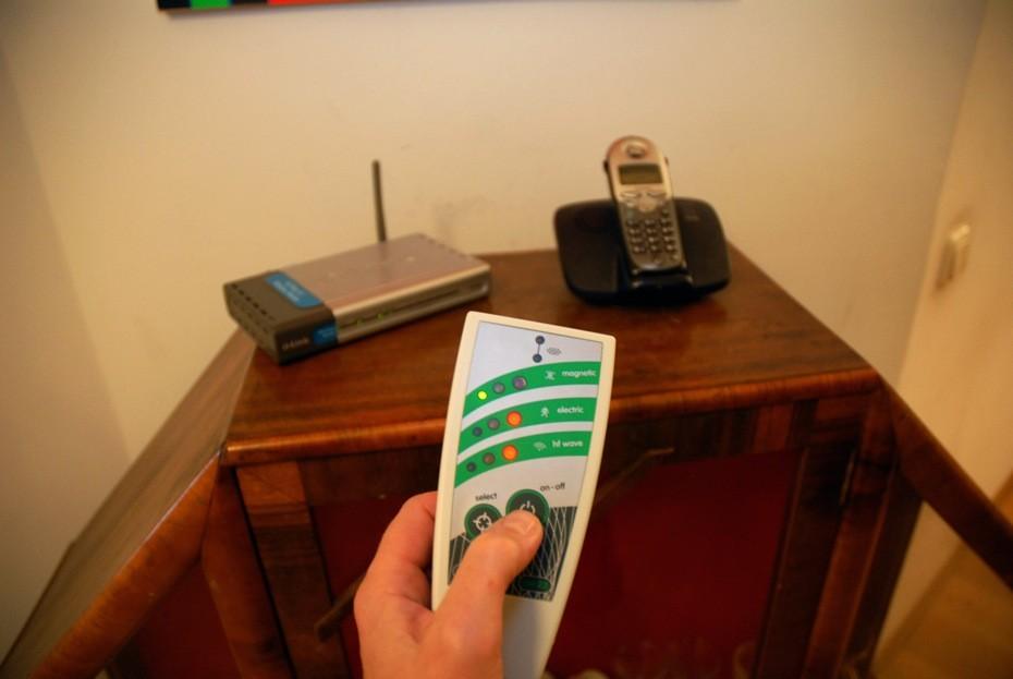 Hochfrequenzstrahlung von WLAN und Schnurlostelefon