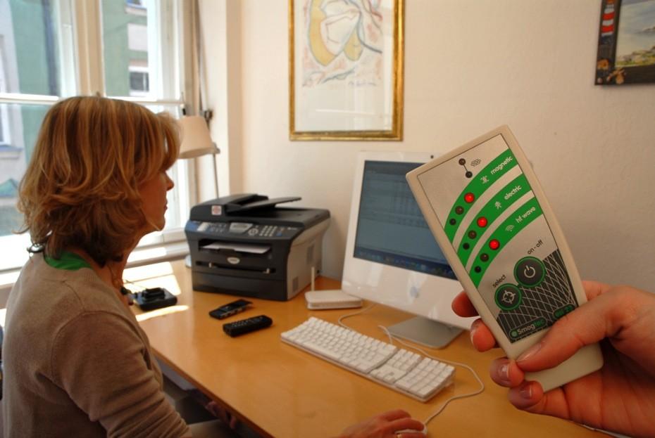 Hohe EMF-Belastung am Computer-Arbeitsplatz