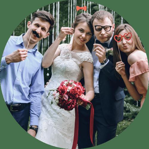 Fotobox für Hochzeit