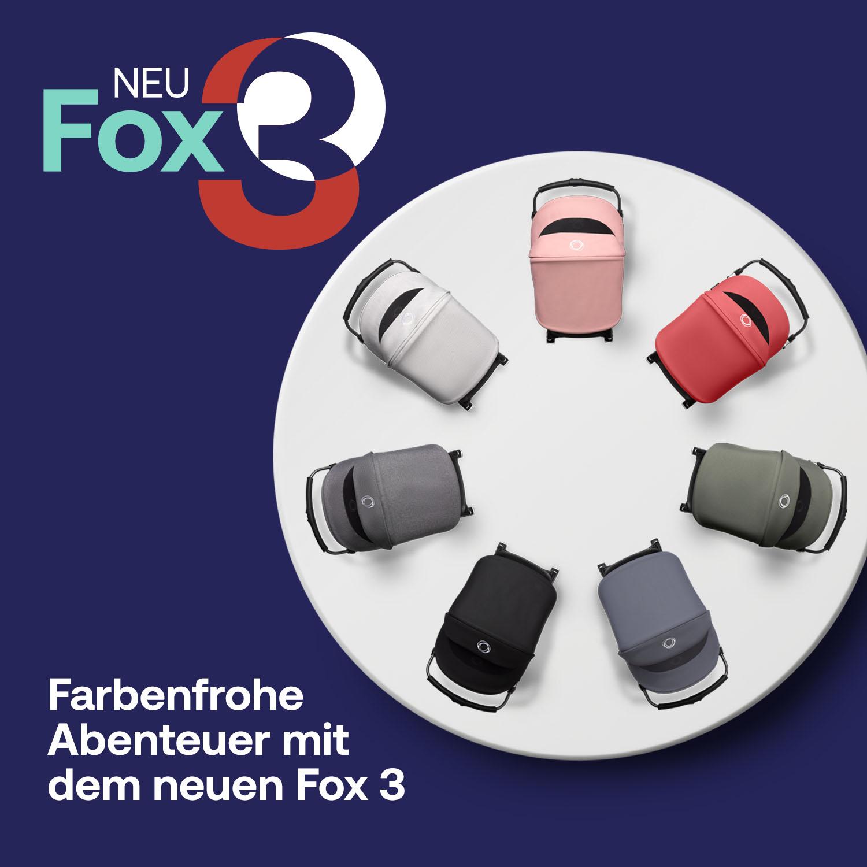 JETZT NEU:  der Bugaboo FOX 3