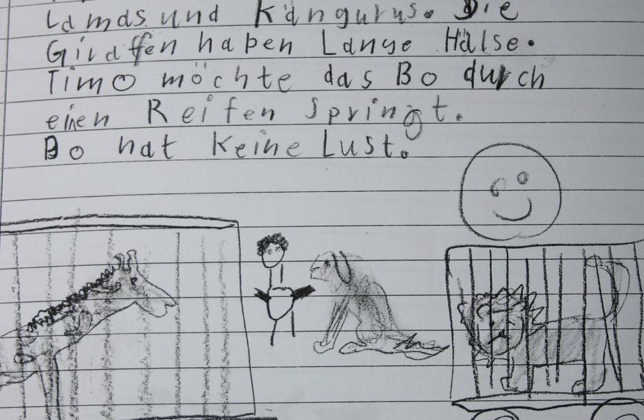 Schriftspracherwerbsstörung LRS Behandlung für Kinder und Jugendliche in der Praxis für Logopädie Bornhöved Angela Köstel-Hegeler