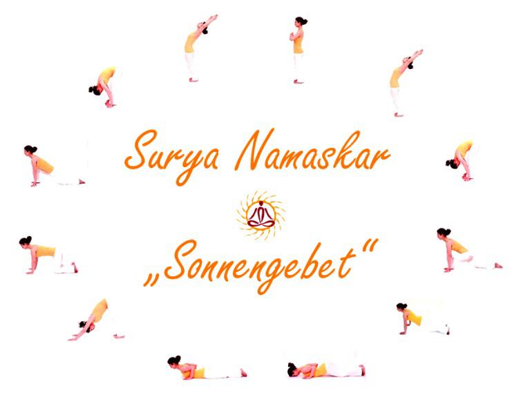 "Yoga-Asanas: ""Sonnengebet"""