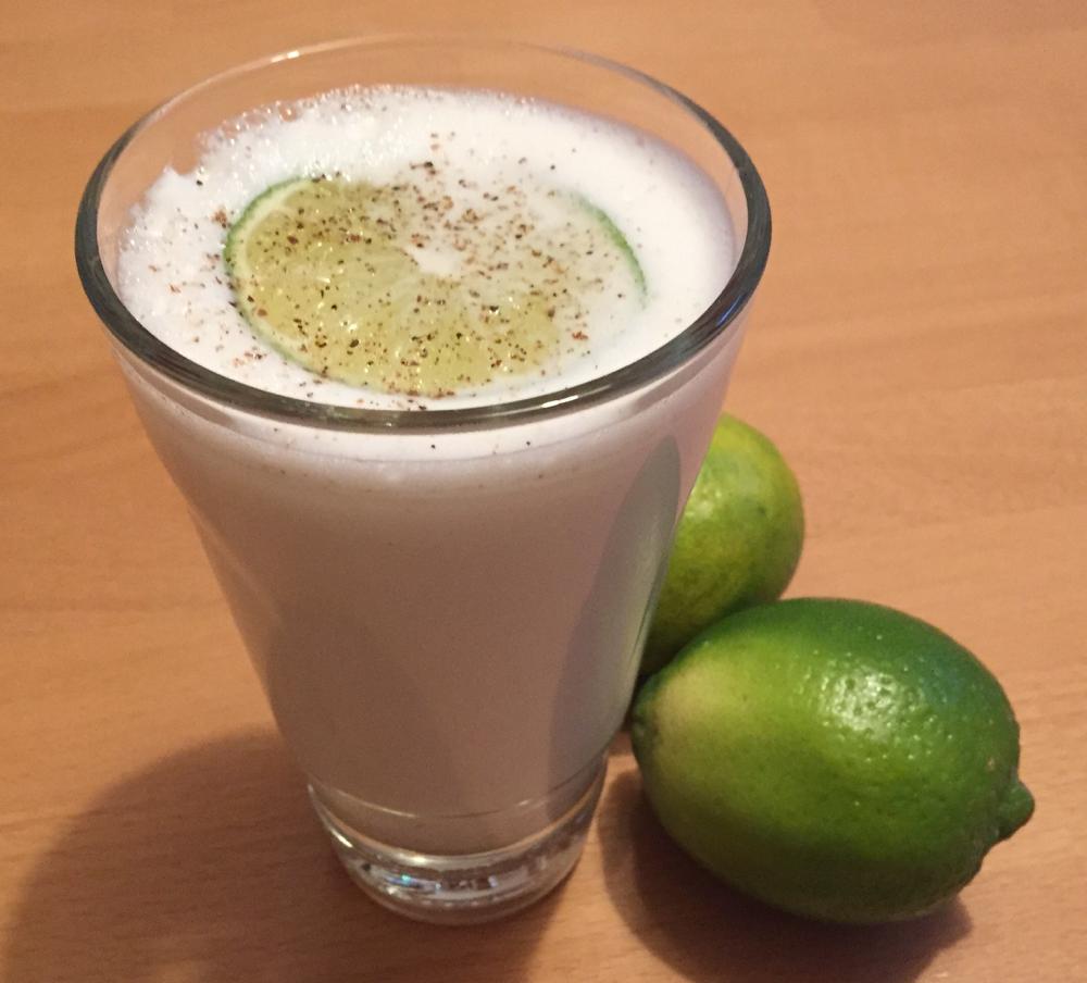 """22.11.16 """"Namkeen Lassi"""" (Gesalzener Joghurt Drink)"""