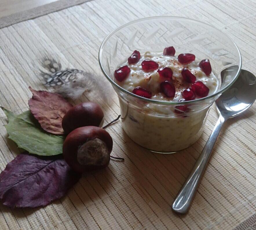 """24.10.16 Würzige Nachspeise: """"Bulgur-Joghurt mit Früchten"""""""