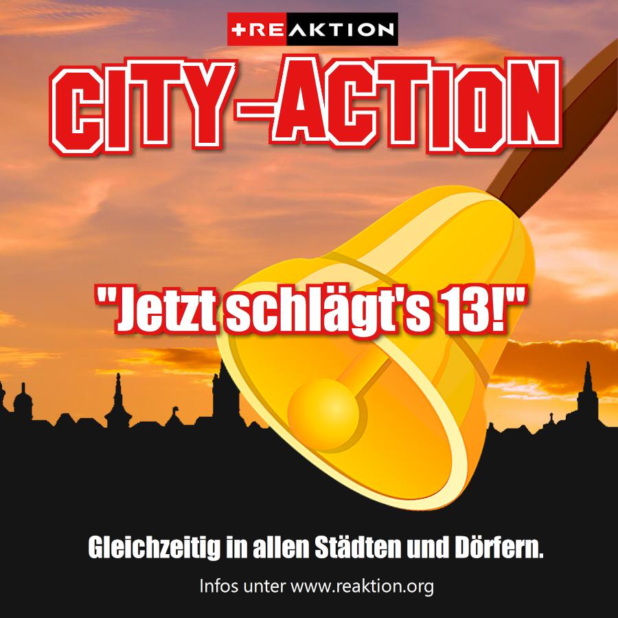 """NEUJAHRSAKTION """"JETZT SCHLÄGT'S 13!"""""""