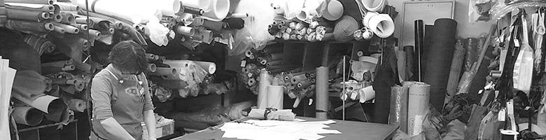 秀岳荘 縫製工場