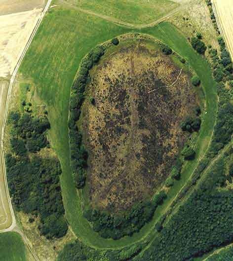 Luftbild Strohner Märchen (Vulkaneifel, Deutschland)