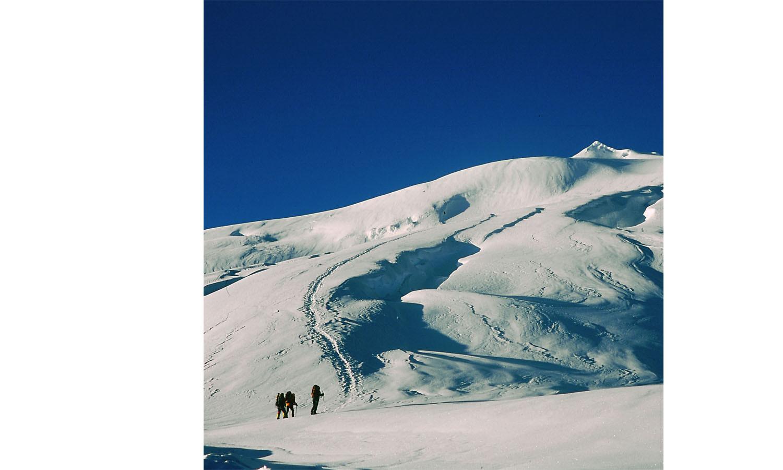 Départ de High Camp pour le sommet