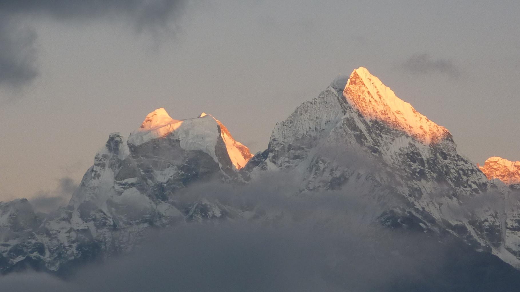 Depuis la montée au Kala Patthar