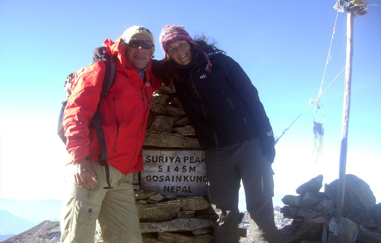 Sommet du Syrya Peak