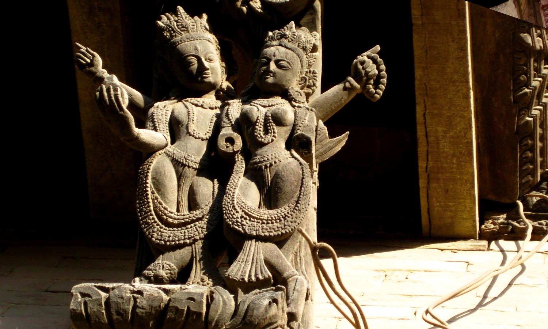 Sculpture et peinture du Népal