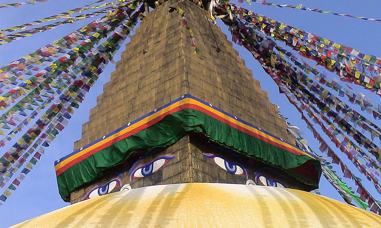 Bodhanath Kathmandu stupa Bouddhiste