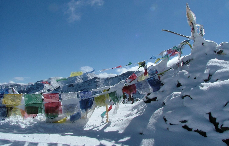 COL DU BASIA LA 5100 m  trek Dolpo Nepal Khumbu