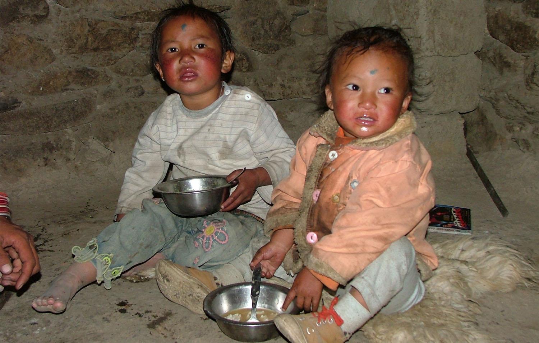 PETITS RUDES A YAK KARKHA trek Dolpo Nepal Khumbu