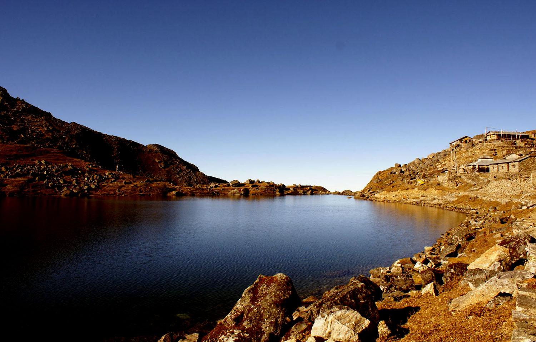 Gosainkund Lac Langtang photo Benoit Perraud Nepal Khumbu Shangrila