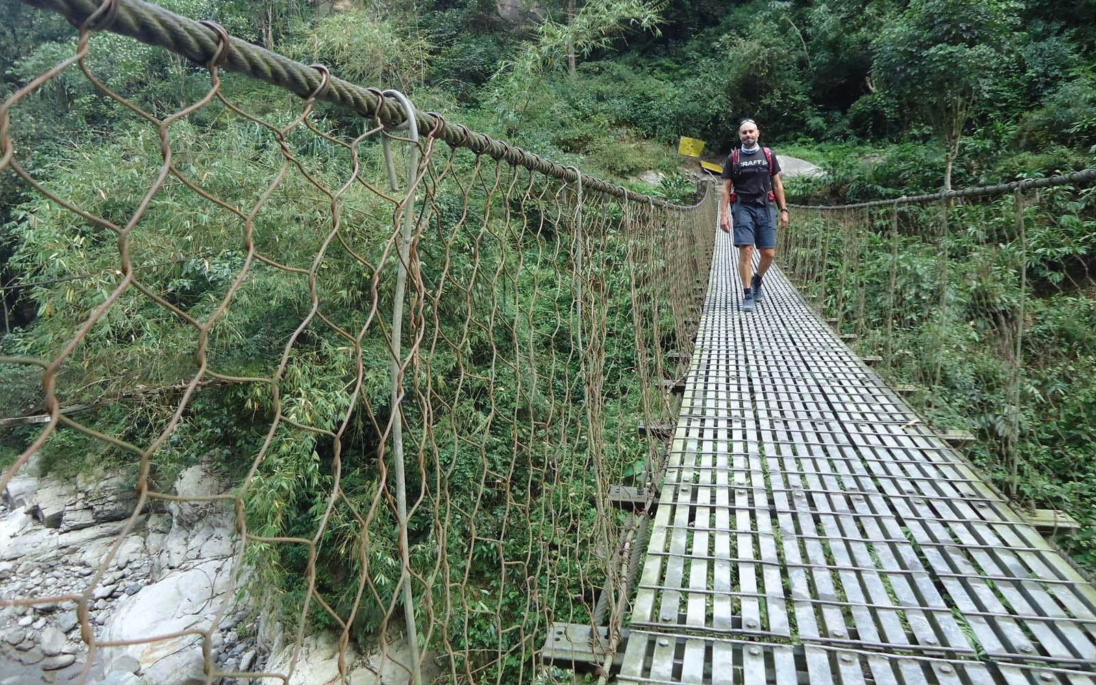 Nouveau pont sur l'Arun - Photo Michael Bois