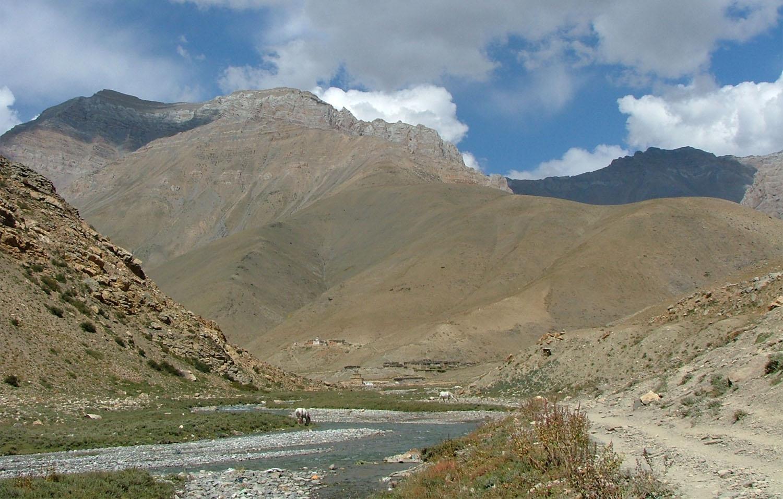 SUR LE CHEMIN DE HIGH CAMP DANIGHARE trek Dolpo Nepal Khumbu Shangrila