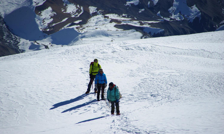 Premier plateau Thorong www.shangrila-trek.com