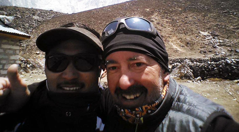 Tashi Sherpa et Gege
