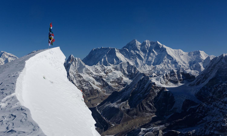 Vue du sommet - photo Gilles de Broucker