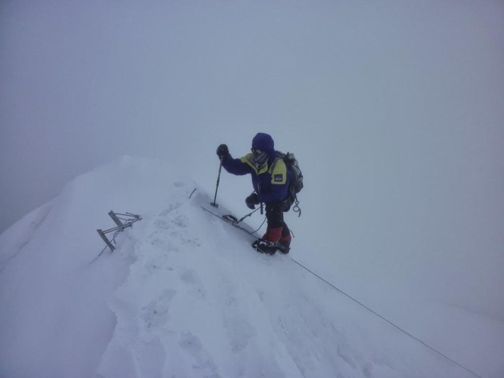 Pulba atteint le sommet - photo Daniel Boulens