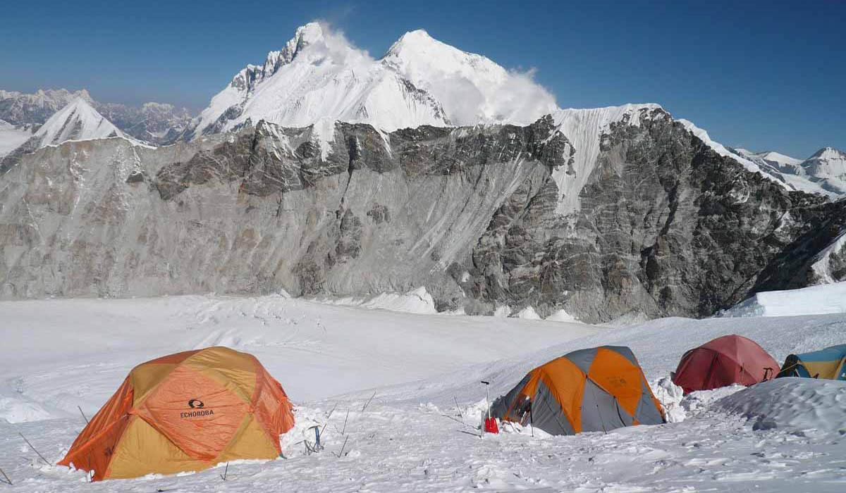 Camp 6700 m - Photo François Marsigny