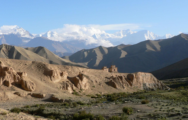 ARRIVEE A LO MANTANG  trek Mustang Nepal Khumbu Shangrila