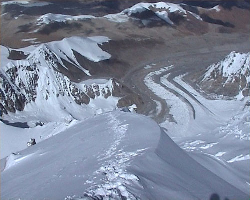 vue depuis le sommet http://www.shangrila-trek.com/shishapangma/