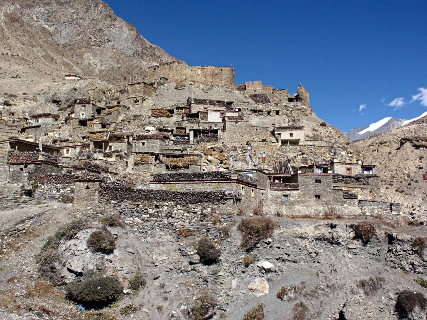 Village de Phu -- Photo Christian Brosse