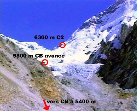 Makalu de CB vers C2 Agence Khumbu Shangrila