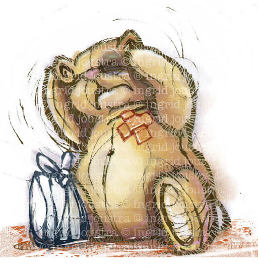 Huiselijk geweld: illustratie bij een artikel in Readers Digest