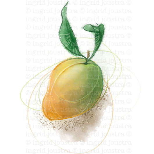 Mango: Photoshop watercolour brushes tryout