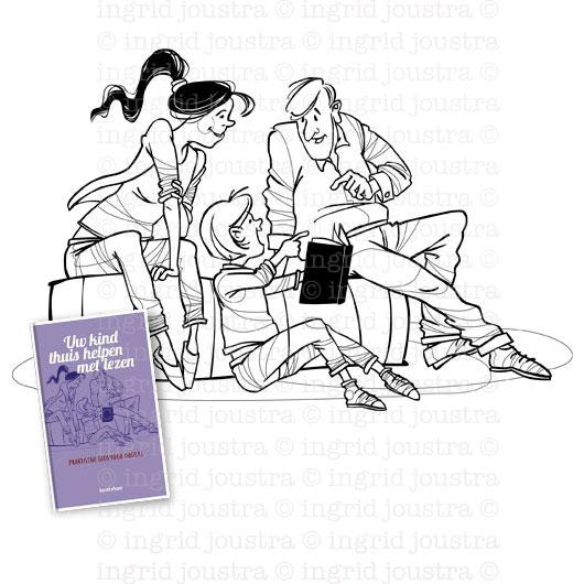 Boekomslag: thuis kinderen helpen met leren lezen | Uitgeverij Bontekoe