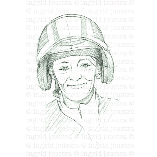 Carla: portret van boswachter Carla Peperkamp | Amsterdam
