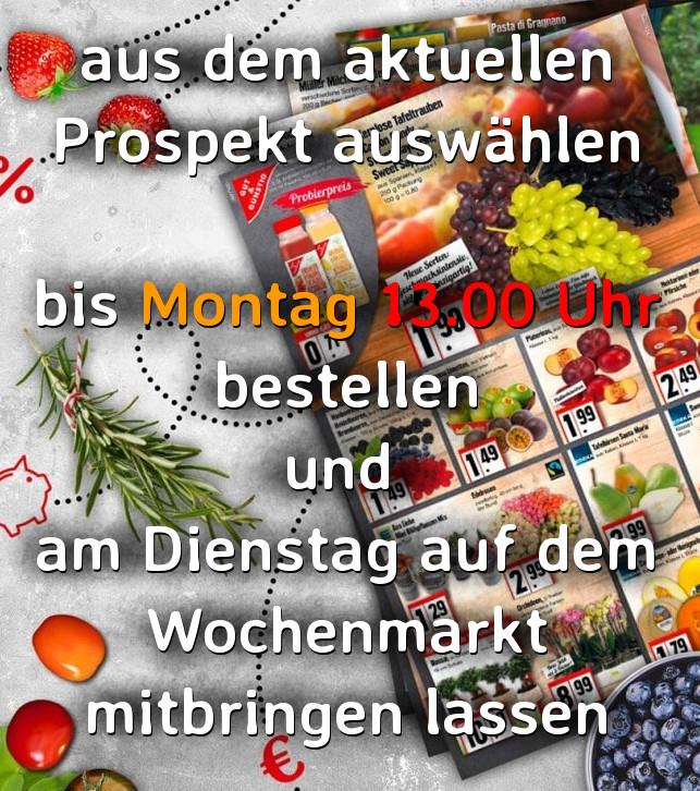 EDEKA Angebots-Prospekt → NEUKAUF · Uwe Reuber · Herbstein