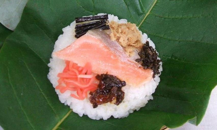 東白川 白川茶屋 朴葉寿司