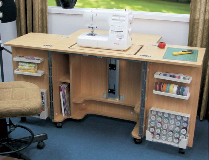 Mueble maquina de coser un blog sobre bienes inmuebles - Mueble de costura ...