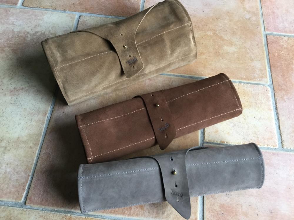 Pfeifentaschen aus Leder