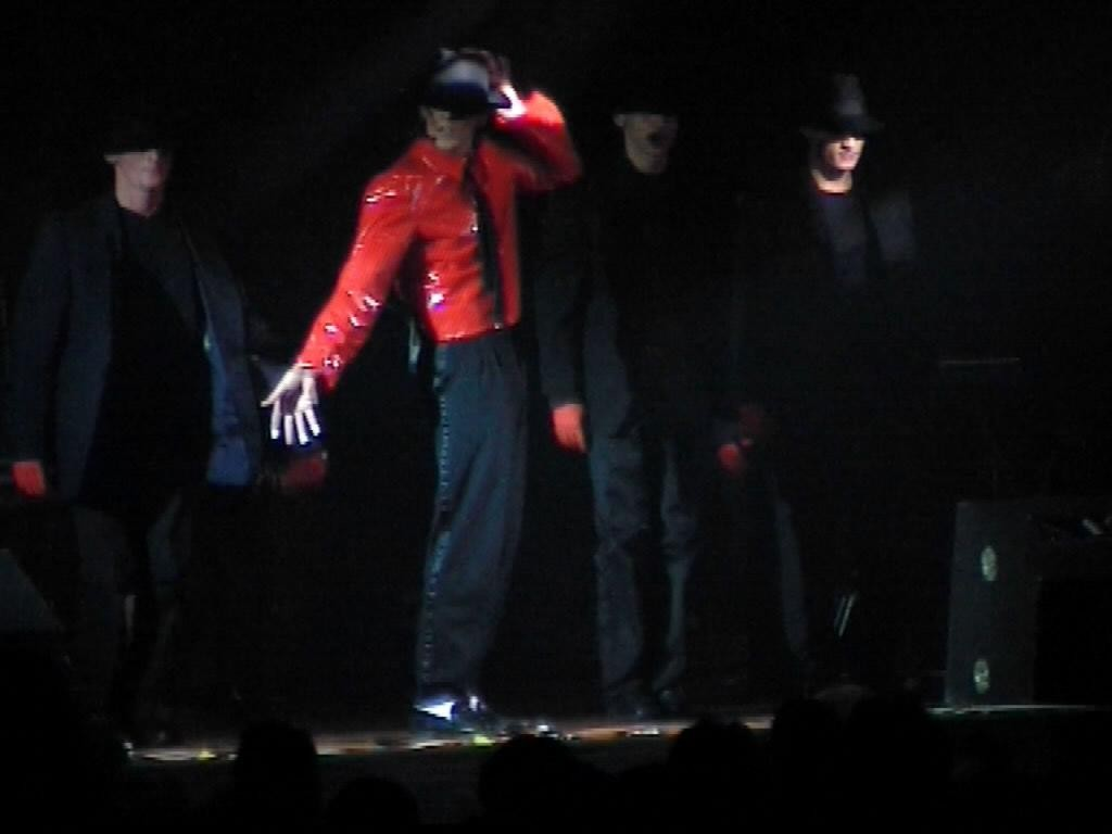 JW Representer of Michael Jackson, Double, Show-DANGEROUS, MJSP